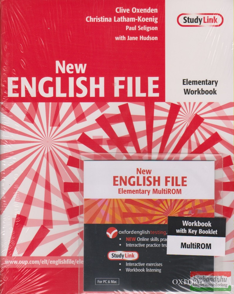 New English File Elementary Workbook with key