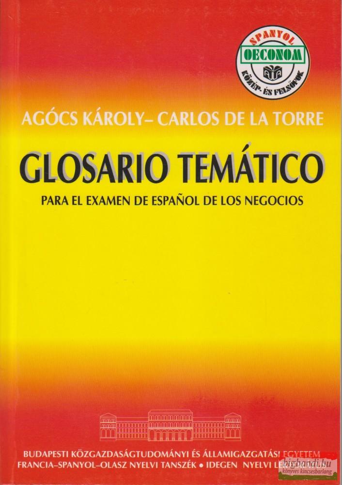 Glosario temático-Tematikus szó- és kifejezésgyűjtemény-spanyol