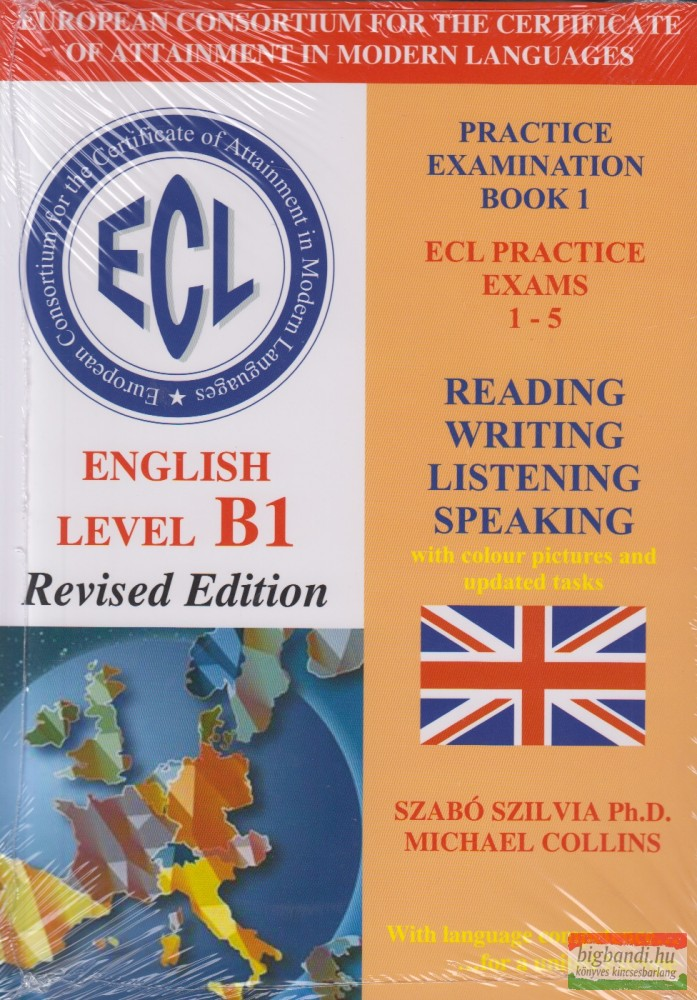ECL English level B1 Revised Edition Practice Examination Book 1 ECL Practice Exams 1-5