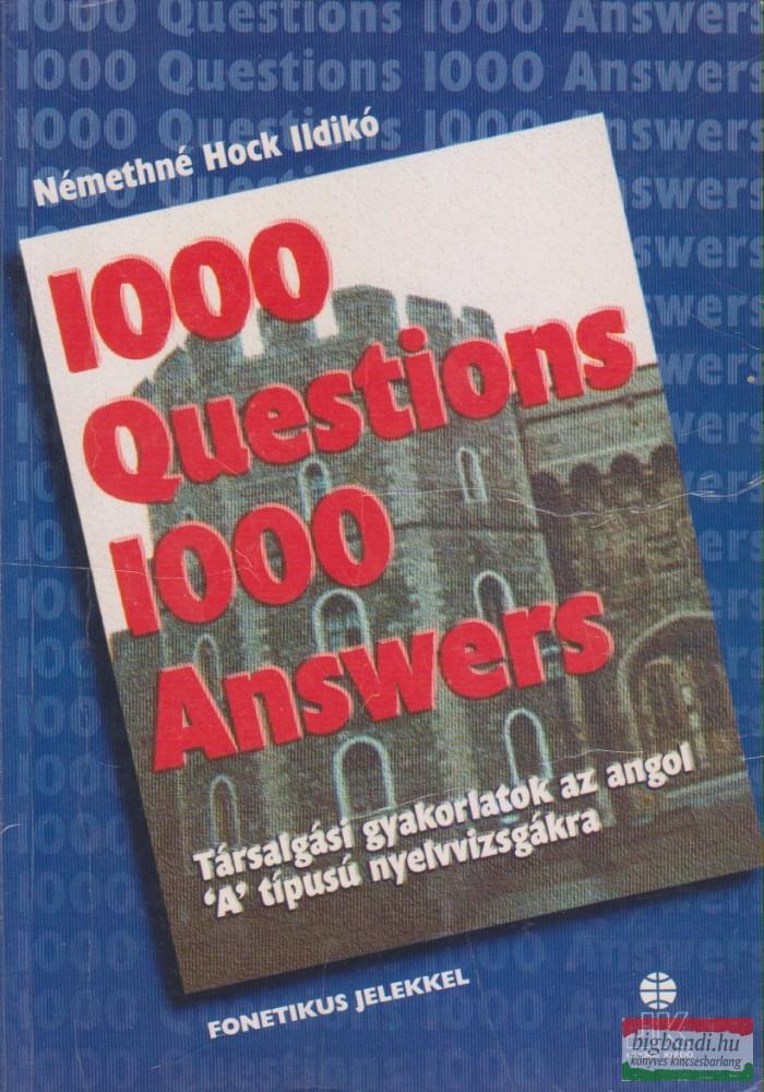 1000 Questions 1000 Answers / 1000 kérdés 1000 válasz