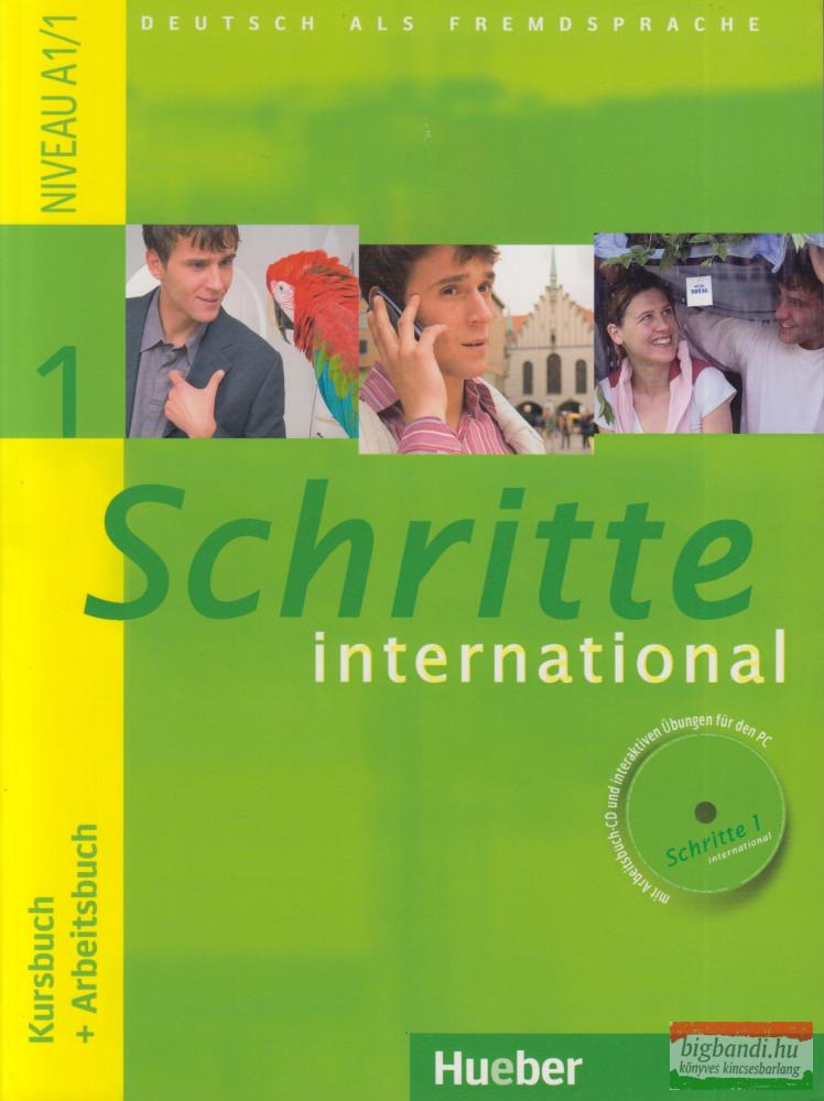 Schritte International 1 Kursbuch+Arbeitsbuch+Audio Cd