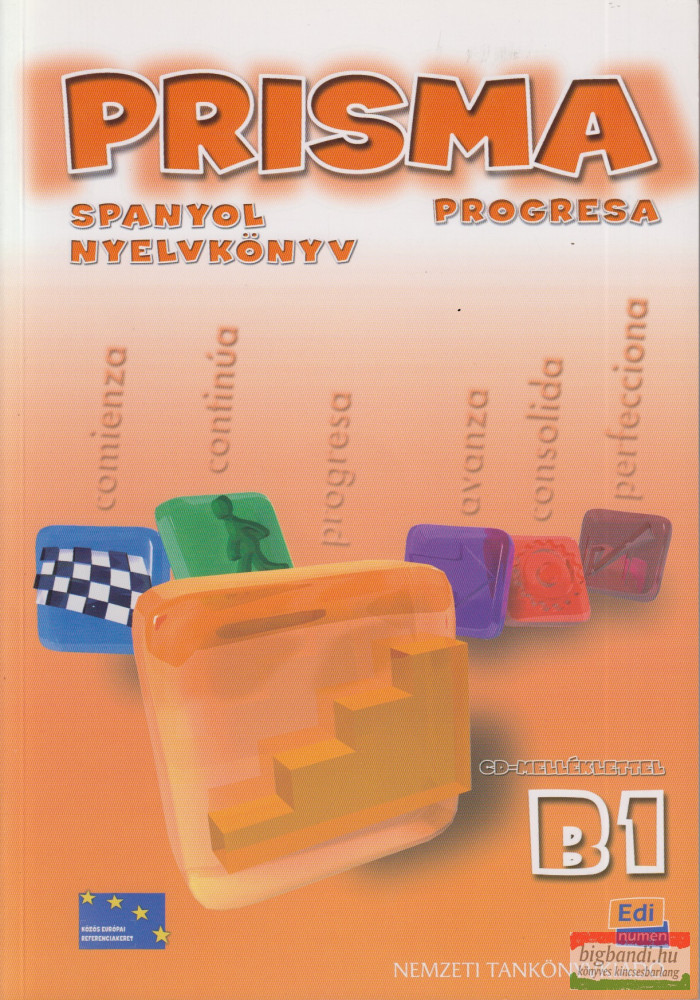Prisma Comienza Spanyol nyelvkönyv + CD 3 B1
