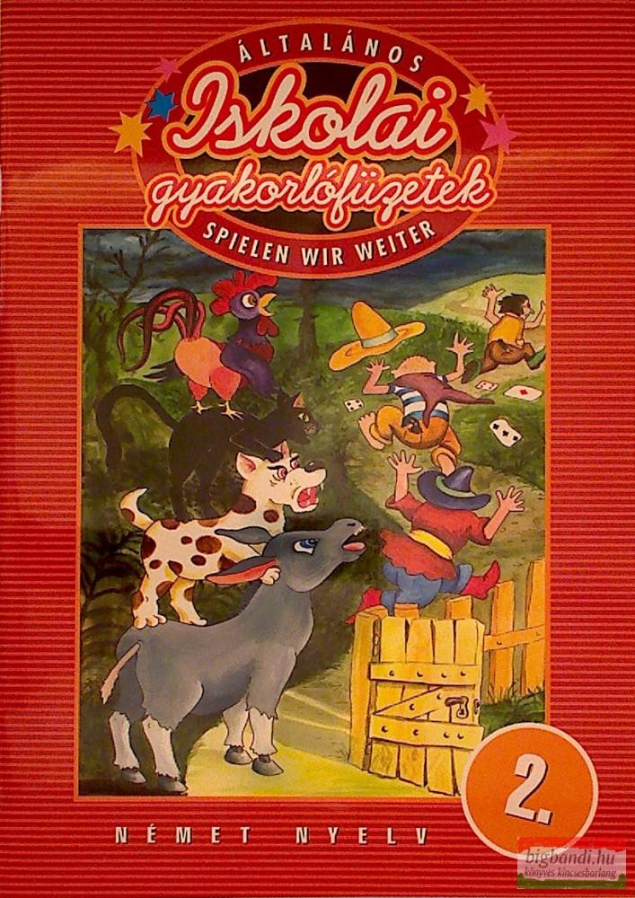 Spielen wir weiter német nyelv 2.