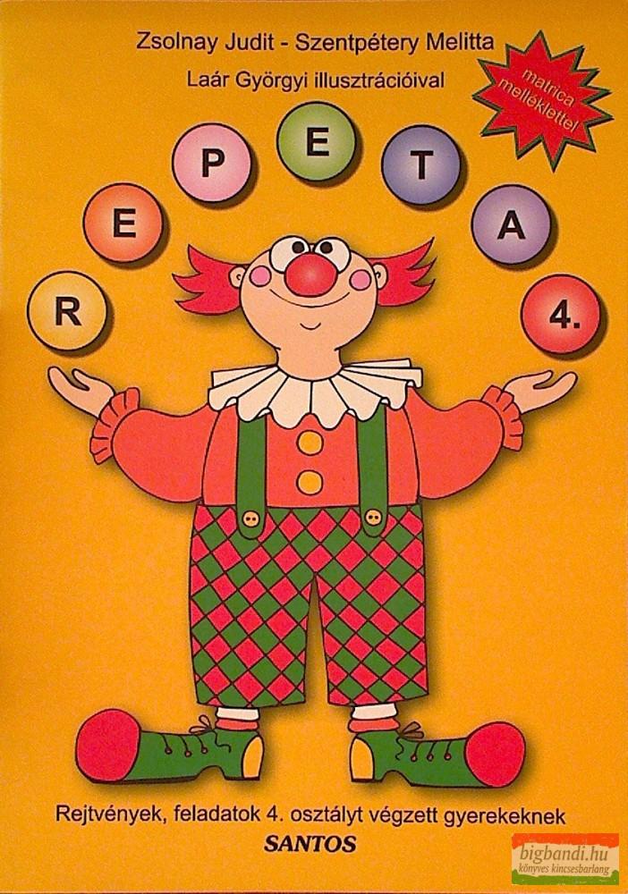 Repeta 4. - Rejtvények, feladatok 4. osztályt végzett gyerekeknek