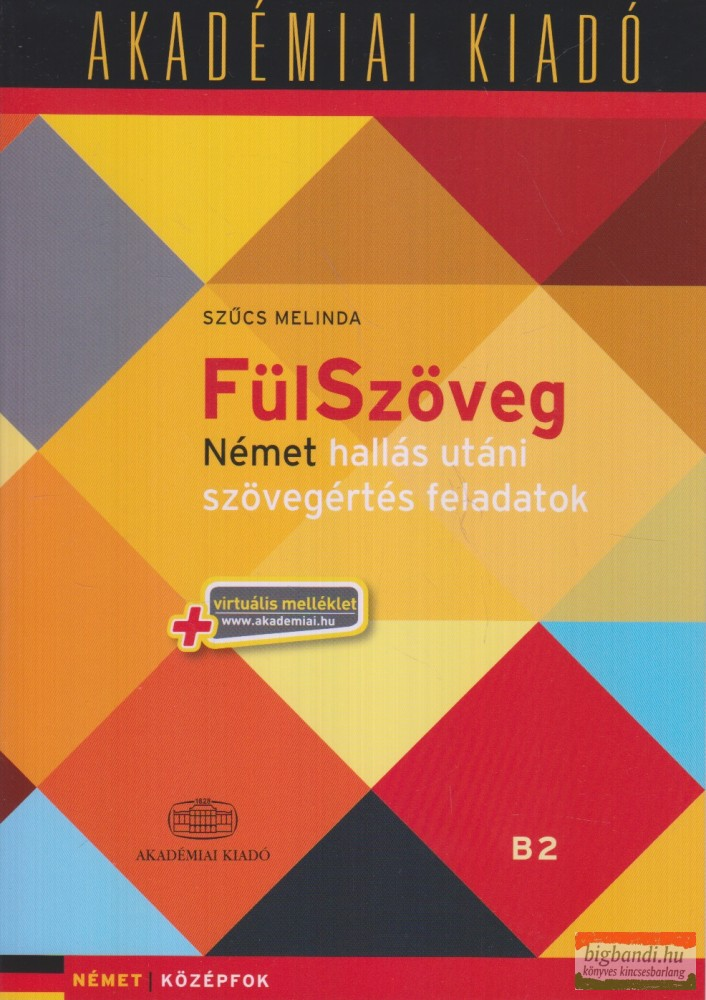 FülSzöveg Német hallás utáni szövegértési feladatok+audio CD