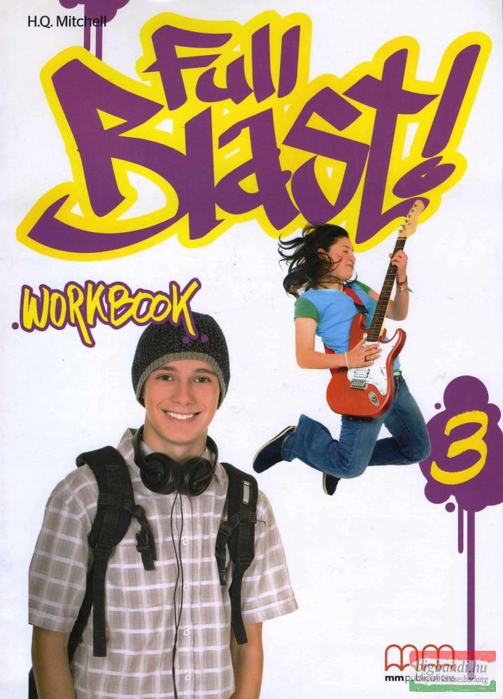 Full Blast 3 Workbook (incl. CD-ROM)