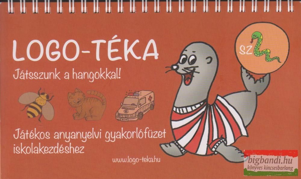 """Logo-téka - Játsszunk a hangokkal! - Játékos anyanyelvi gyakorlófüzet iskolakezdéshez """" SZ """""""