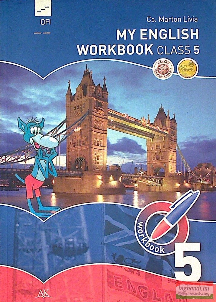 My English Workbook Class 5