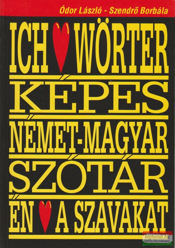 Szeretem a szavakat-képes német szótár