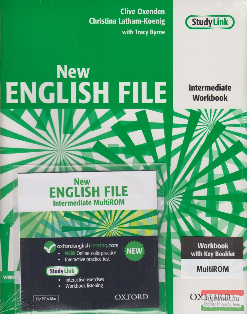 New English File Intermediate Workbook with key