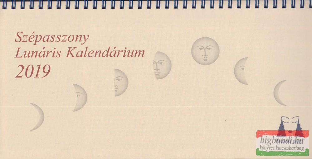 Szépasszony Lunáris Kalendárium 2019