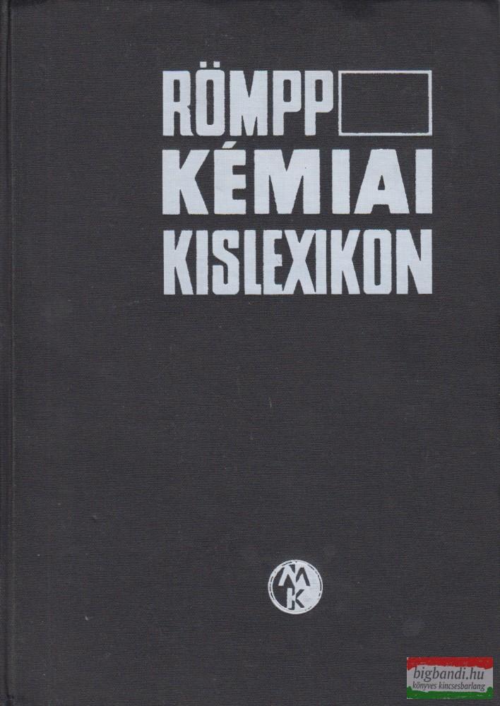 Römpp Kémiai Kislexikon