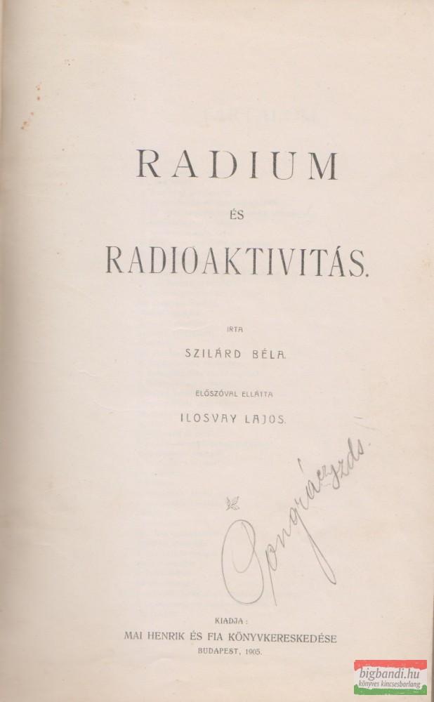 Radium és radioaktivitás