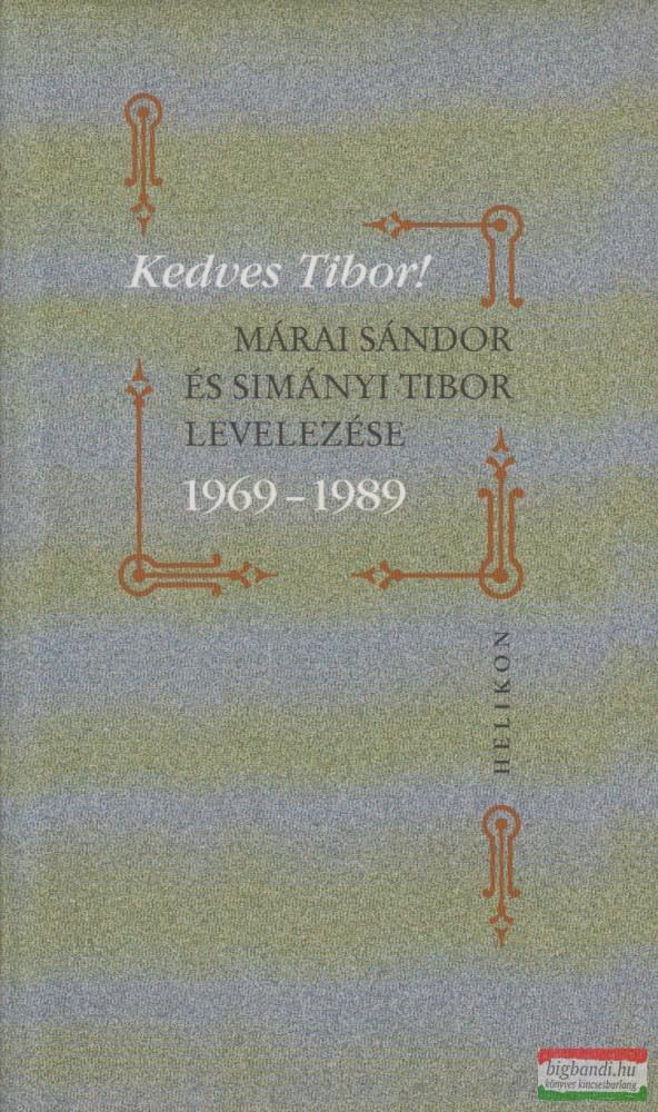 Kedves Tibor!