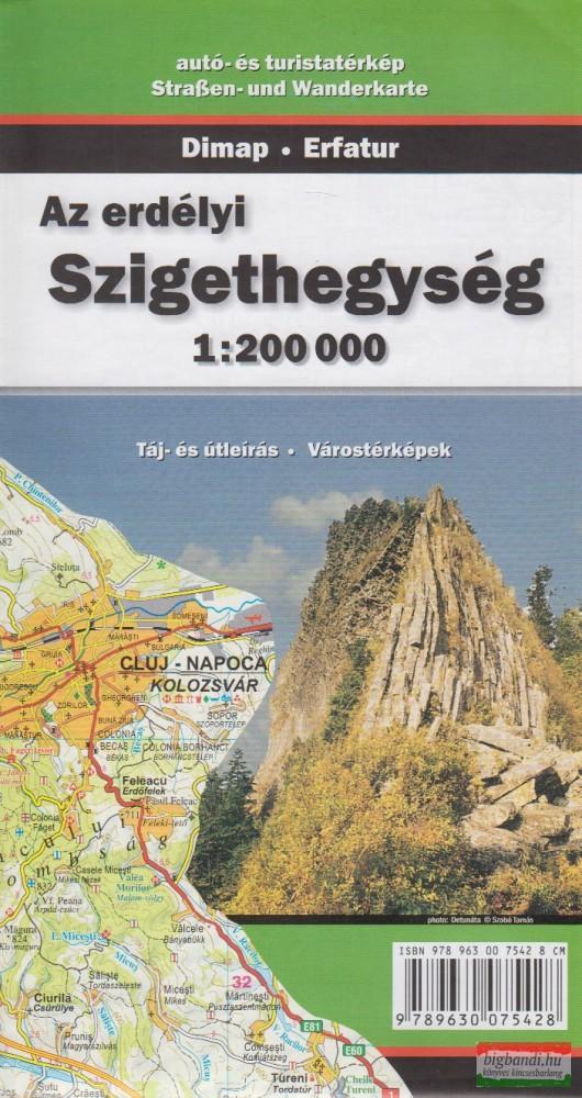 Az erdélyi Szigethegység 1:200000