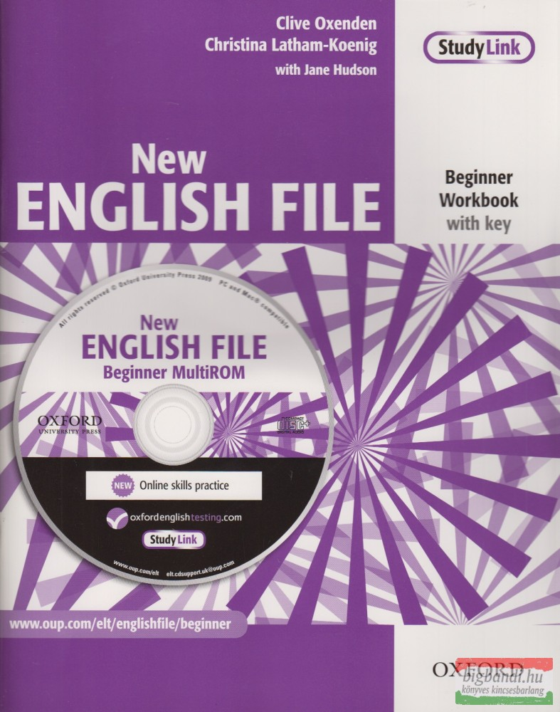 New English File Beginner Workbook with Key + Multirom Pack