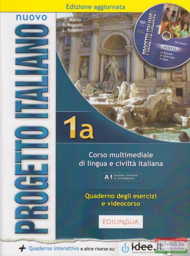 Progetto Italiano 1A Quaderno + DVD