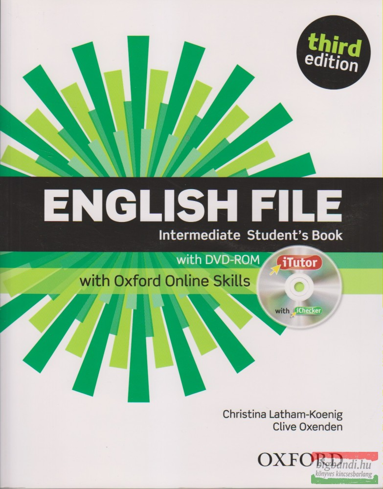 English File Intermediate Student's Book with DVD-ROM, with Oxford Online Skills