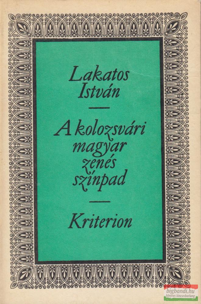 A kolozsvári magyar zenés színpad
