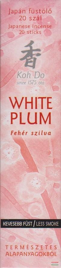 Koh Do japán füstölő - White Plum - Fehér szilva