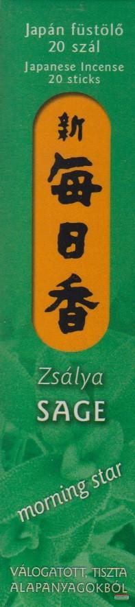 Zsálya – Morning Star 20 - japán füstölő