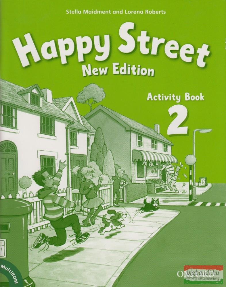New Happy Street 2 Activity Book + Multirom Pack