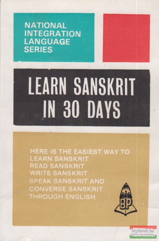 Learn Sanskrit Through English in 30 Days