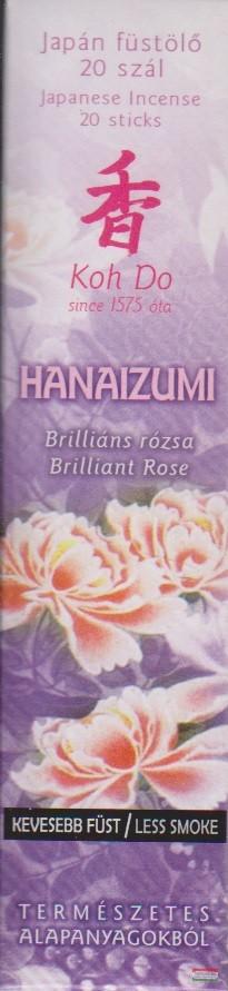 Koh Do japán füstölő - Hanaizumi - Brilliáns rózsa