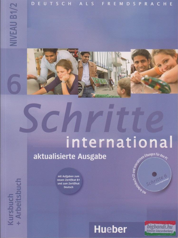 Schritte International 6 aktualisierte Ausgabe Kursbuch+Arbeitsbuch mit Audio Cd