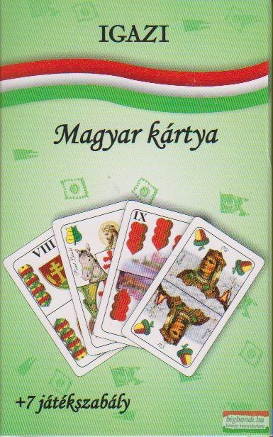 Igazi magyar kártya + 7 játékszabály , 2010