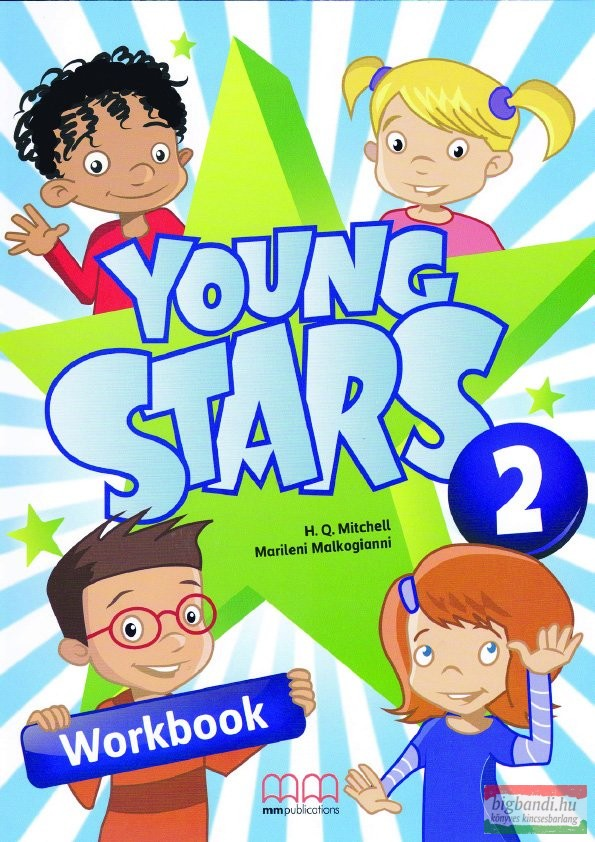 Young Stars Level 2 Workbook with CD-ROM