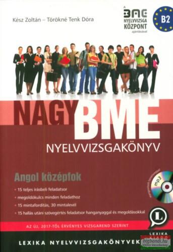 Nagy BME Nyelvvizsgakönyv - Angol középfok + MP3