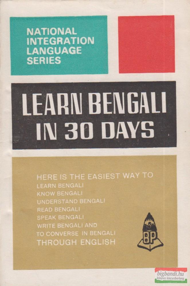 Learn Bengali Through English in 30 Days