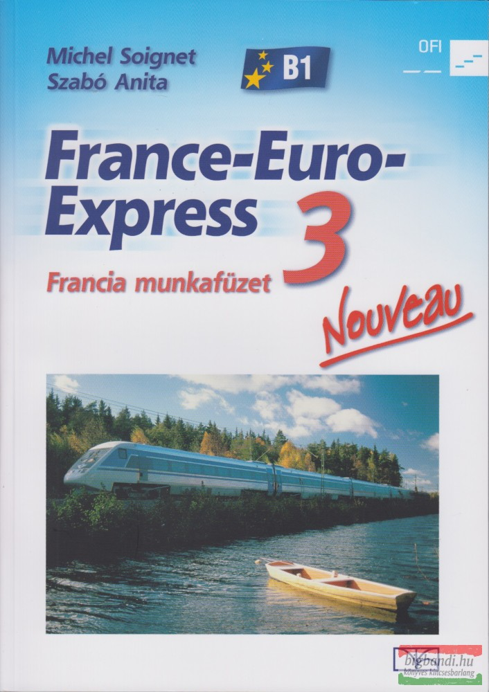 France-Euro-Express 3 Nouveau - Francia munkafüzet