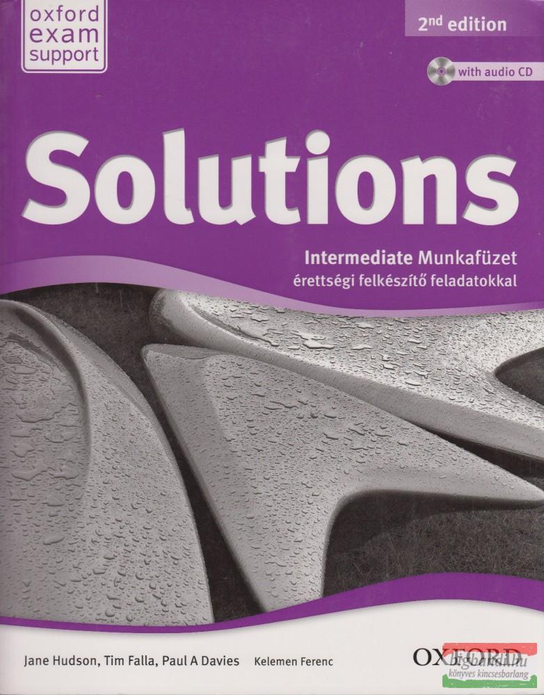Solutions Intermediate Munkafüzet - Érettségi felkészítő feladatokkal Second Edition