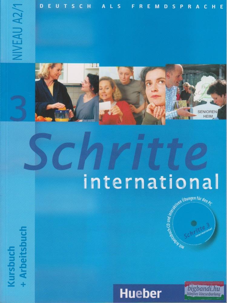 Schritte International 3 Kursbuch+Arbeitsbuch mit Audio Cd