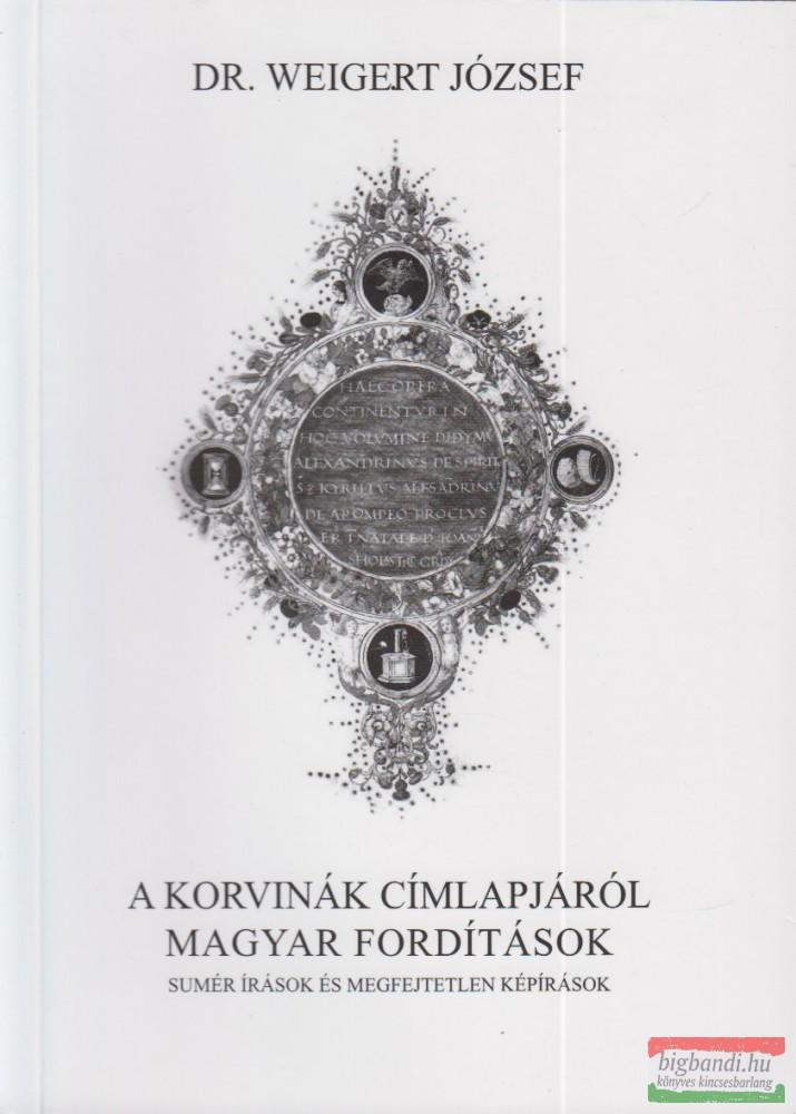 A korvinák címlapjáról magyar fordítások
