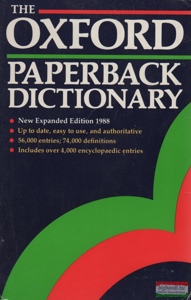 The Oxford Paperback Dictionary