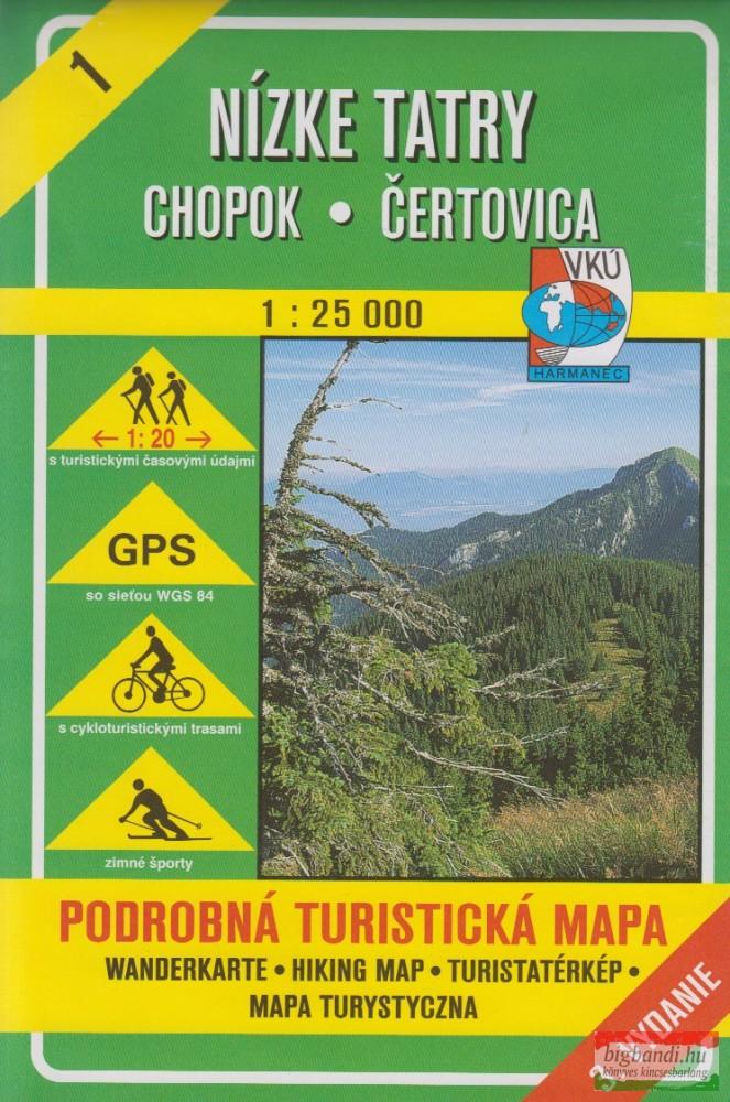 Nízke Tatry, Chopok - Čertovica (VKÚ 1)